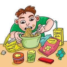 Нездоровый образ жизни в детстве влияет на микробиом кишечника