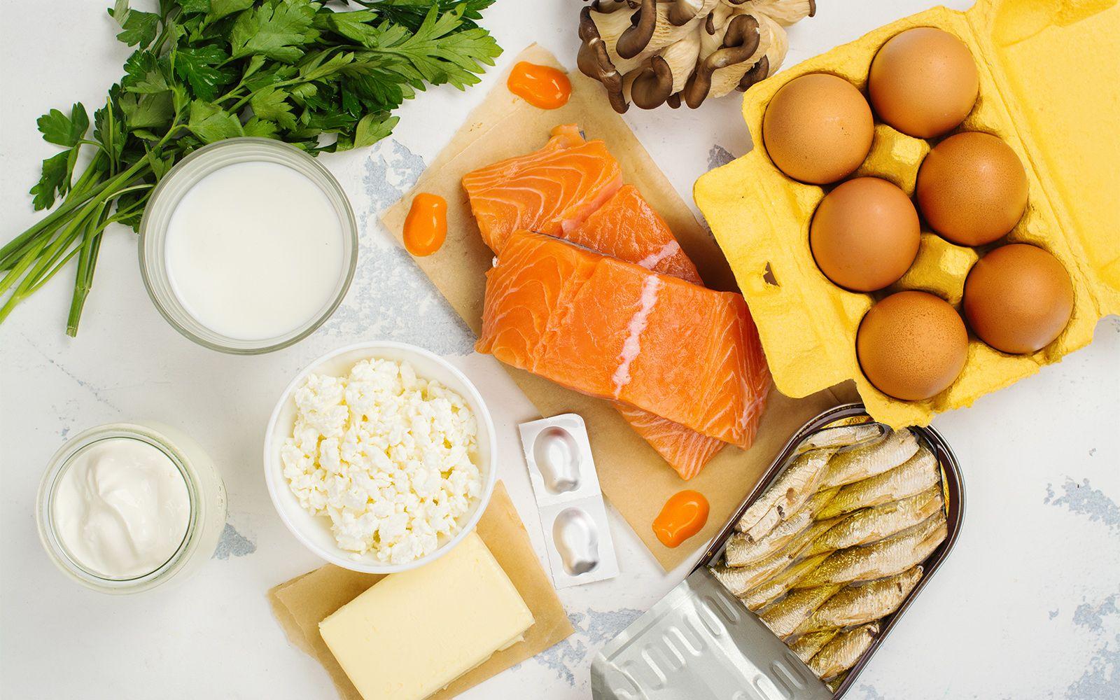 Не-молочные источники витамина Д