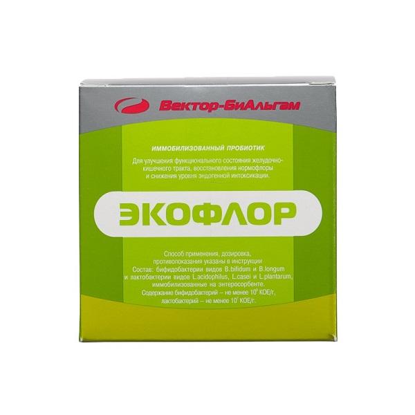 Препарат-пробиотик в сухой иммобилизованной форме